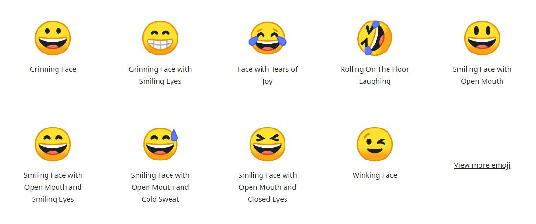 Farbige Emojis unter Linux benutzen (Noto Color Emojis